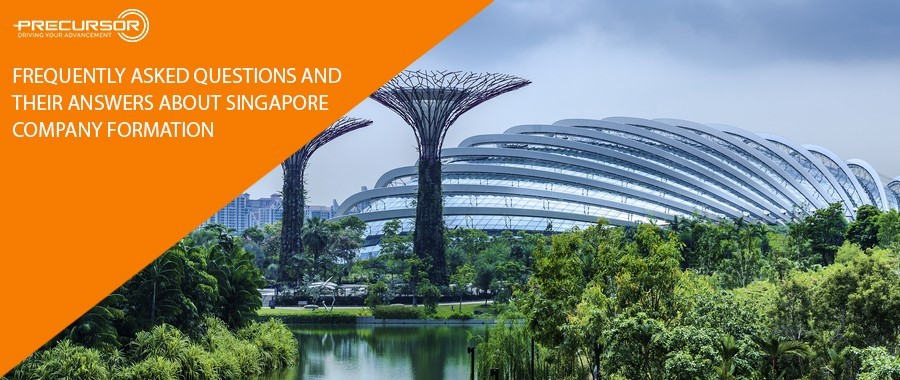 Frequently asked questions and their answers about Singapore company formation